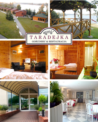 Pensionen in Polen Gasthaus Taradejka Karte